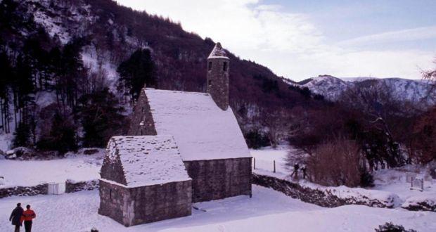 Glendalough in Snow