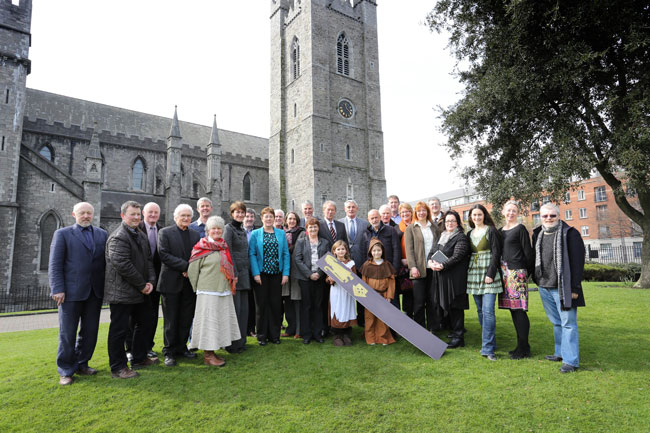 Launch of Pilgrim Paths Day 2014