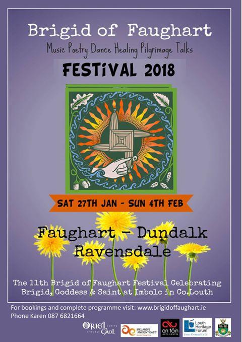 Brigid of Faughert January Festival Poster