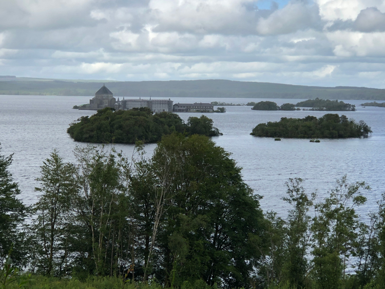 View of Station Island, Lough Derg